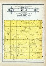 Township 27 Range 15, Francis, Holt County 1915